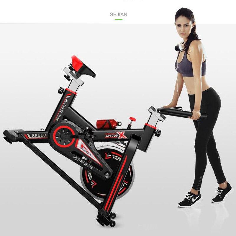 Vélo d'intérieur vélos 250kg charge exercice vélo haute qualité stationnaire vélo maison Fitness vélo perte de poids vélo de rotation - 5