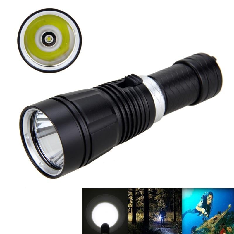 VASTFIRE Underwater 100M Scuba Diving Flashlight XM L t6 LED 1000 LM Waterproof Diving light Torch 18650 Flashlight|18650 light|torch 18650|led diving - title=