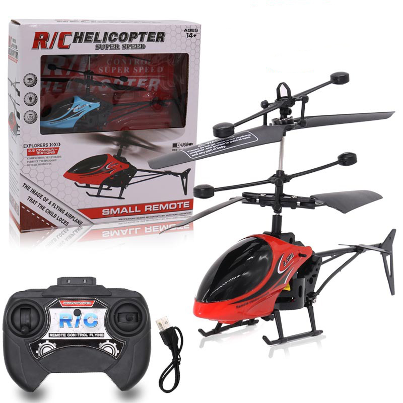 Mini RC Drones Flying RC Helicopter Aircraft Infrared Induction LED Light Remote Control MIni Drone Kids Toys for Children Gifts