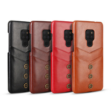 Cong Fee high quality PU leather card holer wallet phone case for Huawei mate 20 lite pro Mai Mang 7