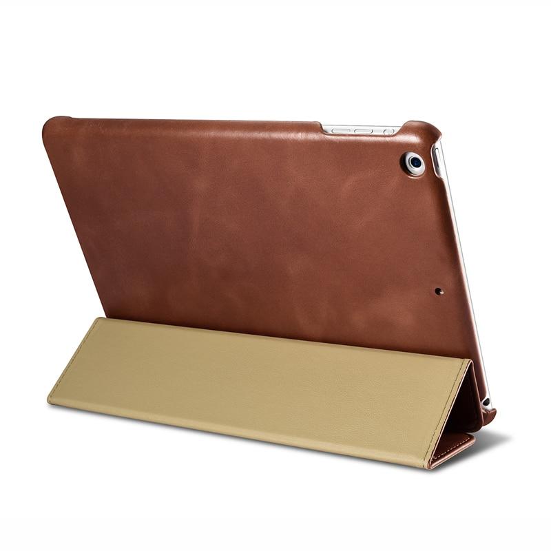 ICarer 本革ケースカバーのための iPad 9.7 インチ (2018) でスタンド/スリープ/ウェイクアップの Ipad 9.7 インチ (2017)  グループ上の パソコン & オフィス からの タブレット & 電子書籍ケース の中 3
