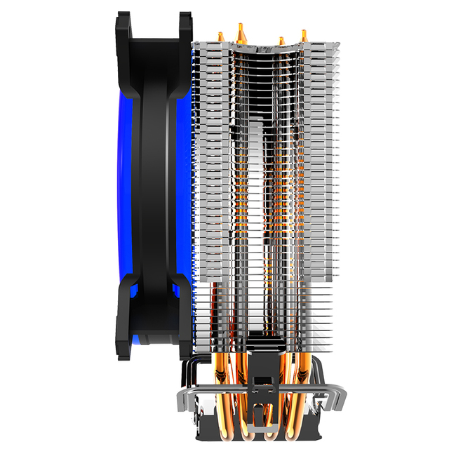 Copper Сooling Fan for CPU…to cool faster and more efficiently.