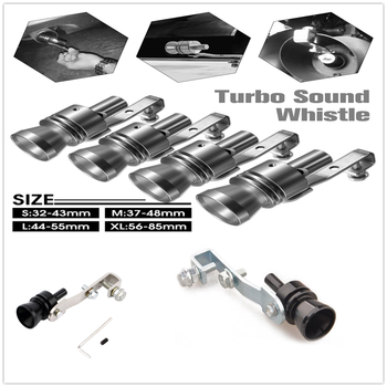 Car Exhaust Pipe Muffler Sound Whistle Simulator black for BMW X7 X1 M760Li 740Le iX3 i3s i3 635d 120d 120i Beat Avalanche 34 image