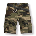 2017 Marca de Moda Shorts Homens Homme Dos Homens Camuflagem Do Exército Curto short masculino Shorts da Carga 4 Cores Plus Size 28-38