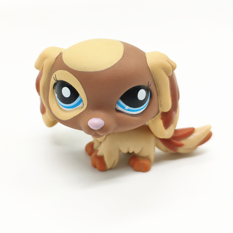 The New Rare Lps Pet Shop Toy Free Shipping Original Shorthair Great Dane Cocker Spaniel 41 Style Exquisite Children Best Gift