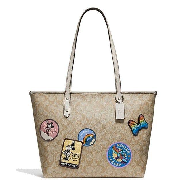 Disney Mickey mouse cartoon lady plush backpack shoulder handbag women PU fashion handbag girl gift bag