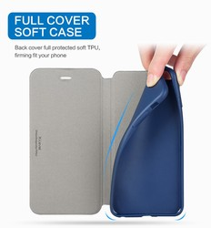 X-Level Ultra Thin Leather Flip Phone Case For iPhone 6 Case iPhone 8 7 Plus Stand Holder Protectiv Cover For iPhone X XS Max XR 3