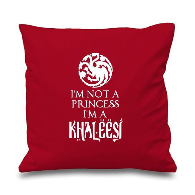 Custom Princess Khaleesi Game of Thrones Inspired Pillow Case