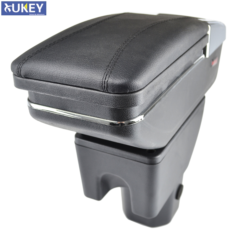 Armrest For Suzuki Ignis 2016 - 2018 Arm Rest Rotatable Storage Box 2017 Decoration Car Styling(China)