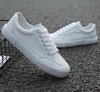 2019 novo estilo tênis branco homens sapatos de lazer respirável sapatos populares moda de alta qualidade homens super confiantes tênis pretos 1