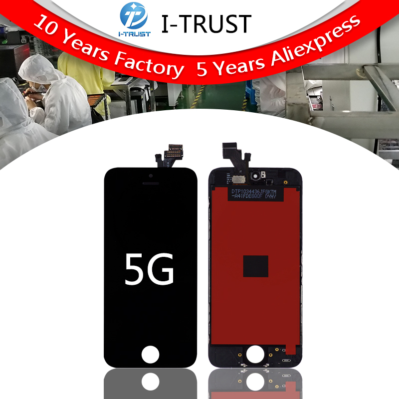 Grade A quality LCD Display For iPhone 5 5G 5S 5C SE Free DHL Ship with