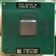 Original para computador portátil intel, cpu intel cpu core 2 duo t8300 3m cache/2.4ghz/800/dual processador de laptop core para gm45