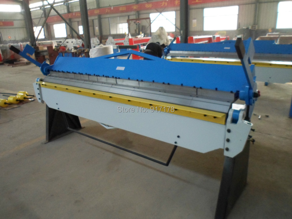 2040*2.0mm hand brake sheet metal brakes bending machine pan and box folding machinery tools
