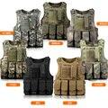 Homens Militar Tático Colete À Prova de Balas Colete Swat Molle Camuflagem saco de Gancho de Peixes de Combate Do Exército Equipamentos de Proteção