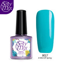 Sexy Mix Gelpolish Nail Gel Soak off Gel Lacquer Nail Varnishes French Manicure Removal Gel Varnish TOP Quality for Nail Art