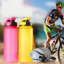 500-600 ml mi Botella de Agua de Plástico (BPA Libre) Espacio A Prueba de Fugas portátil taza de Té coctelera Botella De Ciclismo Gimnasio de la escuela botella de bebida