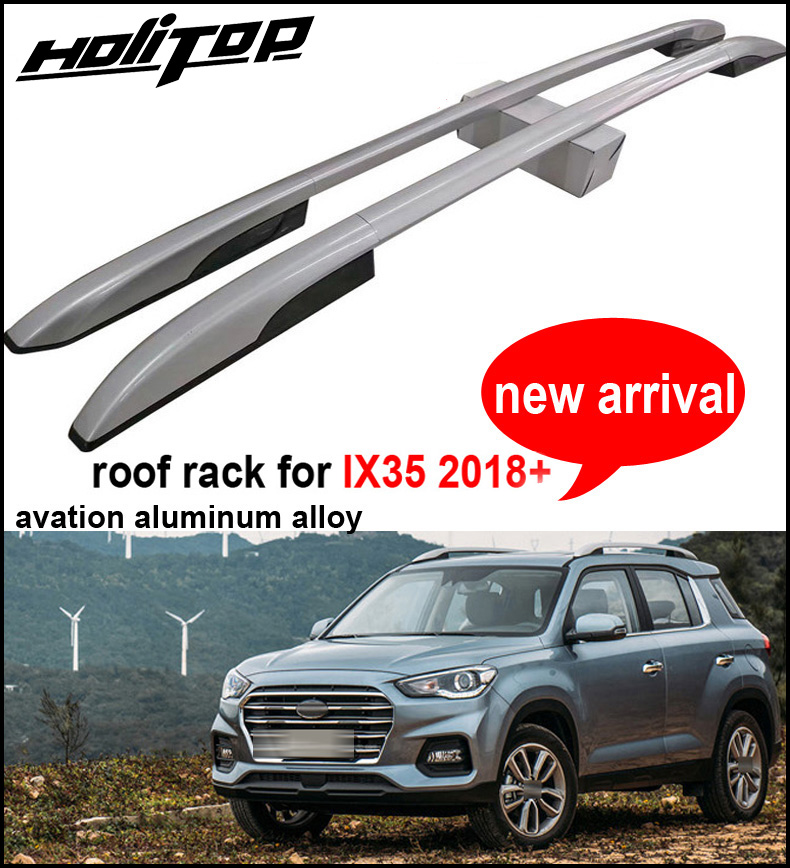 New arrival roof rack cross roof bar roof rail for Hyundai IX35 2018+,aluminum 2pcs/set, ...