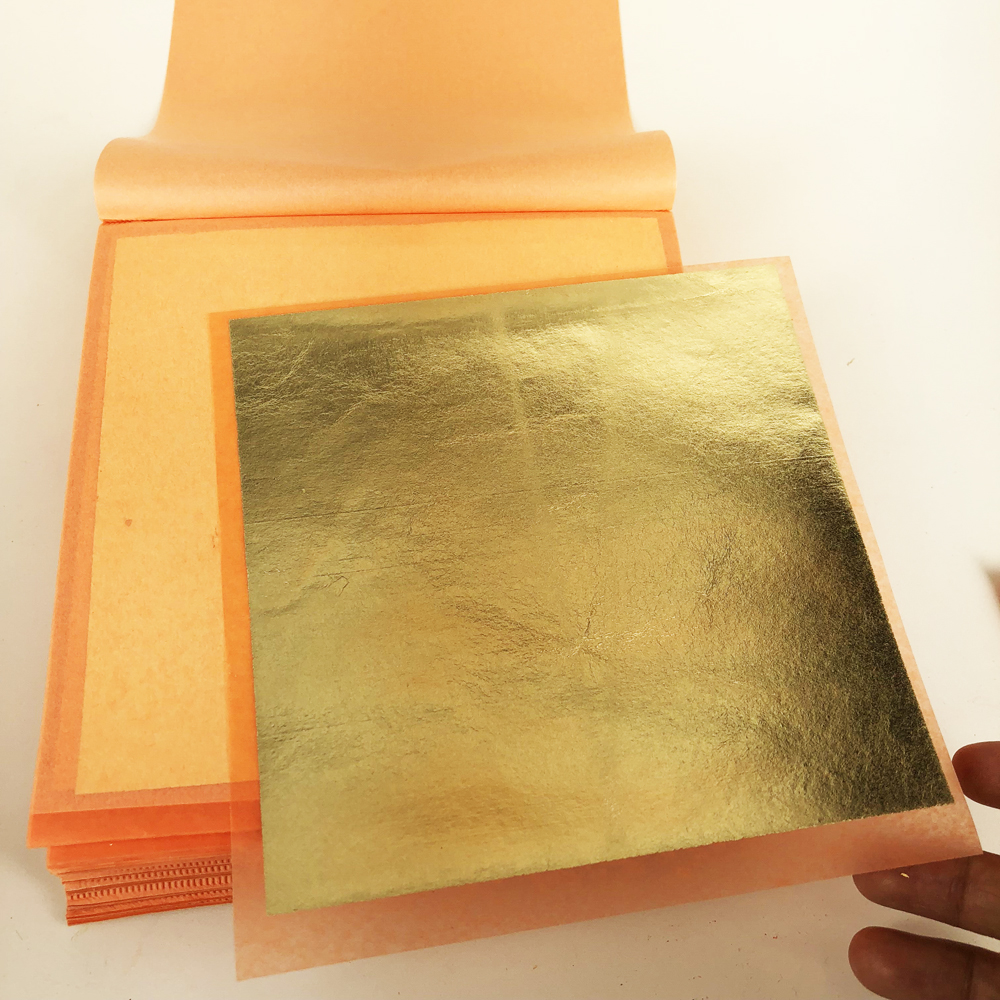 14x14 cm 20 booklets of 500 sheets Transfer Imitation gold silver Copper Leaf Patent Booklet Craft