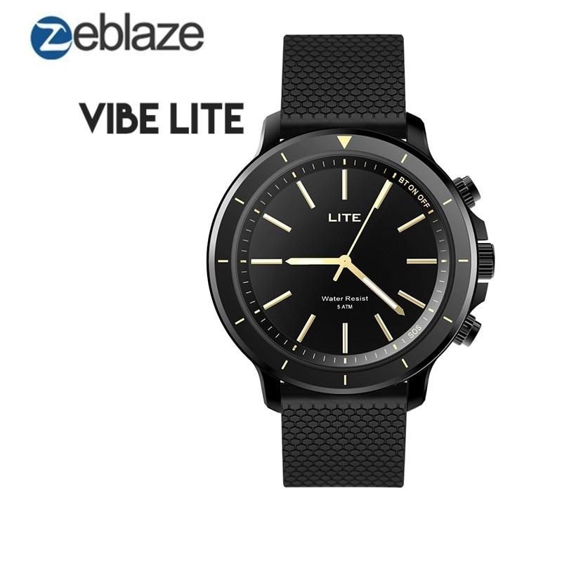 Zeblaze VIBE LITE Smart Watch 5 ATM Waterproof Sport Wristband Bracelet Fitness Trackers Bluetooth 4.0 for Android iOS