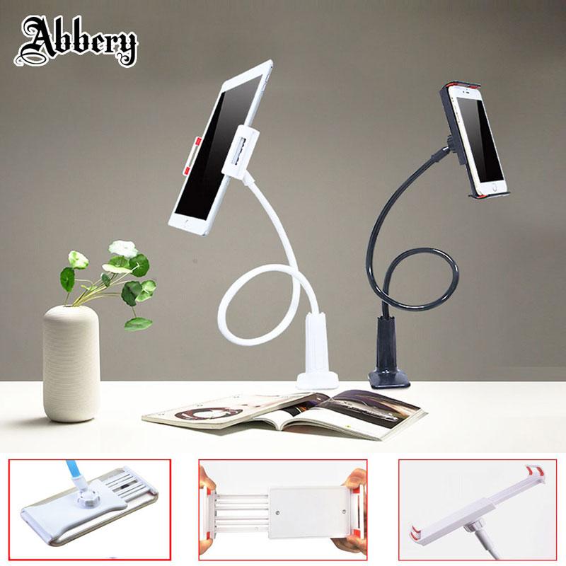 Abbery Flexible Arm Schwanenhals Halter Auto Handy Lange Arm faul Bett Desktop 360 Grad Tablet Halter für iPad Air/Mi Pad