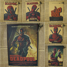 Deadpool Poster/Marvel super hero decoration painting film painting Ryan ReynoldsKraft Poster/Wall sticker
