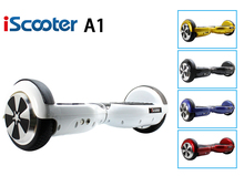 iScooter Hoverboard 2 Wheel Smart Balance Electric Scooter self Balancing giroskuter Skateboard Popular Hover Board have UL2722(China)