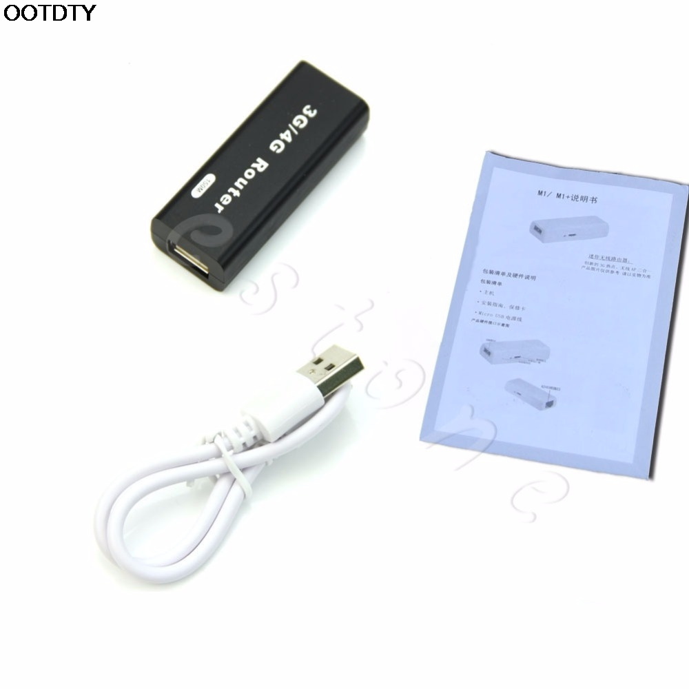 New WIFI Router Mini Portable 3G/4G WiFi Wlan Hotspot AP Client 150Mbps USB Wireless Router hot