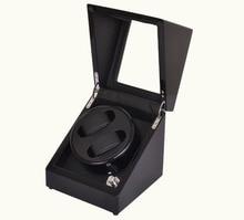Роскошный Новый Механизм 2 складских помещений автоматические часы Намотки коробка Бесплатная доставка