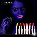 6 Цветов Glow In The Dark Помады Макияж Блестящий Партии Флуоресцентный Световой Губ Стик Для Губ Новый