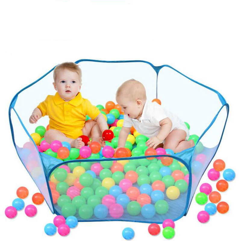 Play Tent Toy Ocean Ball Pool Pit Soft House Transparent Gauze Foldable Portable Indoor Outdoor Toys For Children Kids Baby