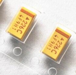 10uF 6V 20/% SMD B-CASE CAPACITOR TANTALUM 25 PER LOT
