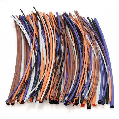 100 Pcs shrink thermosetting shrinkable tube 2: 1 Ratio himabm 1 pcs 100
