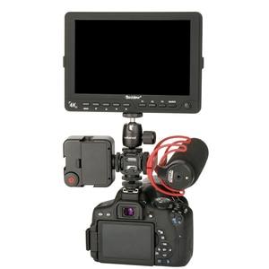Image 5 - Ulanzi לשלושה 3 קר נעל הר על המצלמה נעל הר תמיכה BY MM1 מיקרופון וידאו LED אור עבור DSLR ניקון Canon