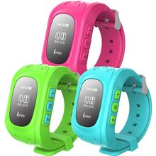 MOCRUX  Sensible Child Watch Q50 Colourful SOS Name Location Finder Locator Tracker for Youngster Anti Misplaced Monitor Child Son Wristwatch