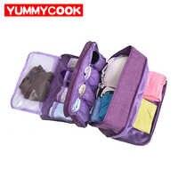 Portable Bra Underwear Storage Bag Waterproof Travel Socks Cosmetics Drawer Organizer Wardrobe Closet Clothes Pouch Accessories