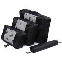QIUYIN Unisex Clothing Sorting Organize Wholesale Packing Cube Travel Bag System Durable 3 Pieces Set Large Capacity Of Bags