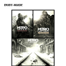 Game metro 2033 Canvas Poster bedding No Frame Home Decoration Wall Art Modern 1 Piece HD Oil Painting Picture Panel Print C-006