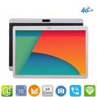 Бесплатная доставка 10,1 Планшеты Android 7,0 10 Core 128 ГБ Встроенная память двойной Камера 8MP планшет с двумя sim картами ПК Google GPS bluetooth телефон MT6797