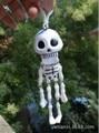 1pcs 19cm long Dancing Skeleton toy. Party Joke Prank Novelty Trick Funny Skull skull decanter