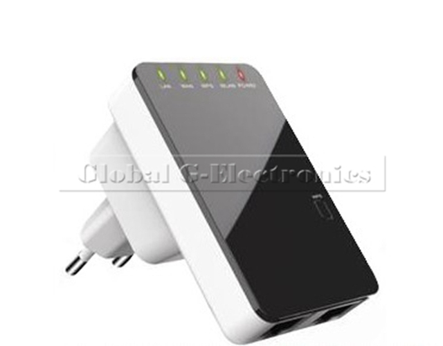 Wholesale Free Shipping 300Mbps Wireless-N Router AP Repeater Client Bridge IEEE 802.11 b/g/n EU Plug Mini