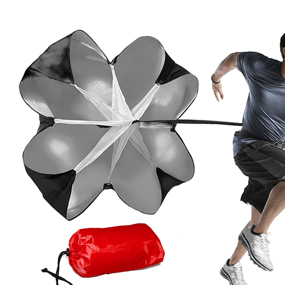 Running Speed Training Resistance Parachute Running Sprint Chute Soccer Football Sport Strength Speed Training Umbrella in Soccers from Sports Entertainment