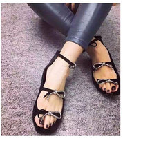 High Quality Genuine Leather Bowknot Flats low heel Women Spring and Autumn Flat Heel Shoes Casual Women's Flats Brand