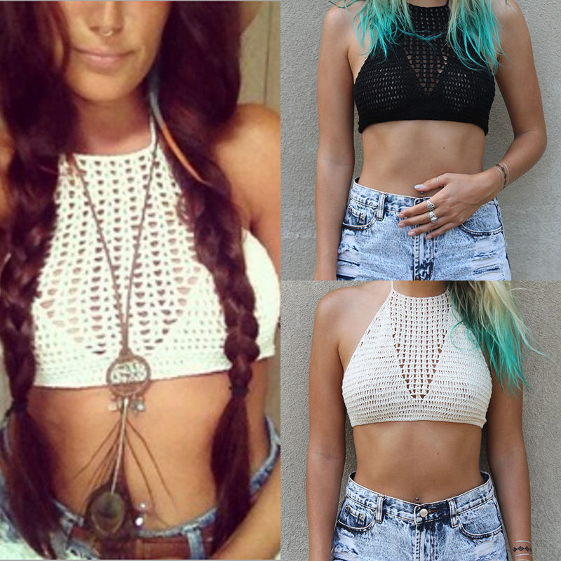 2020 New Style Fashion Women Sexy Summer Vest Crop Tank Tops Sleeveless Tee Lace Blouse T-Shirt Ca