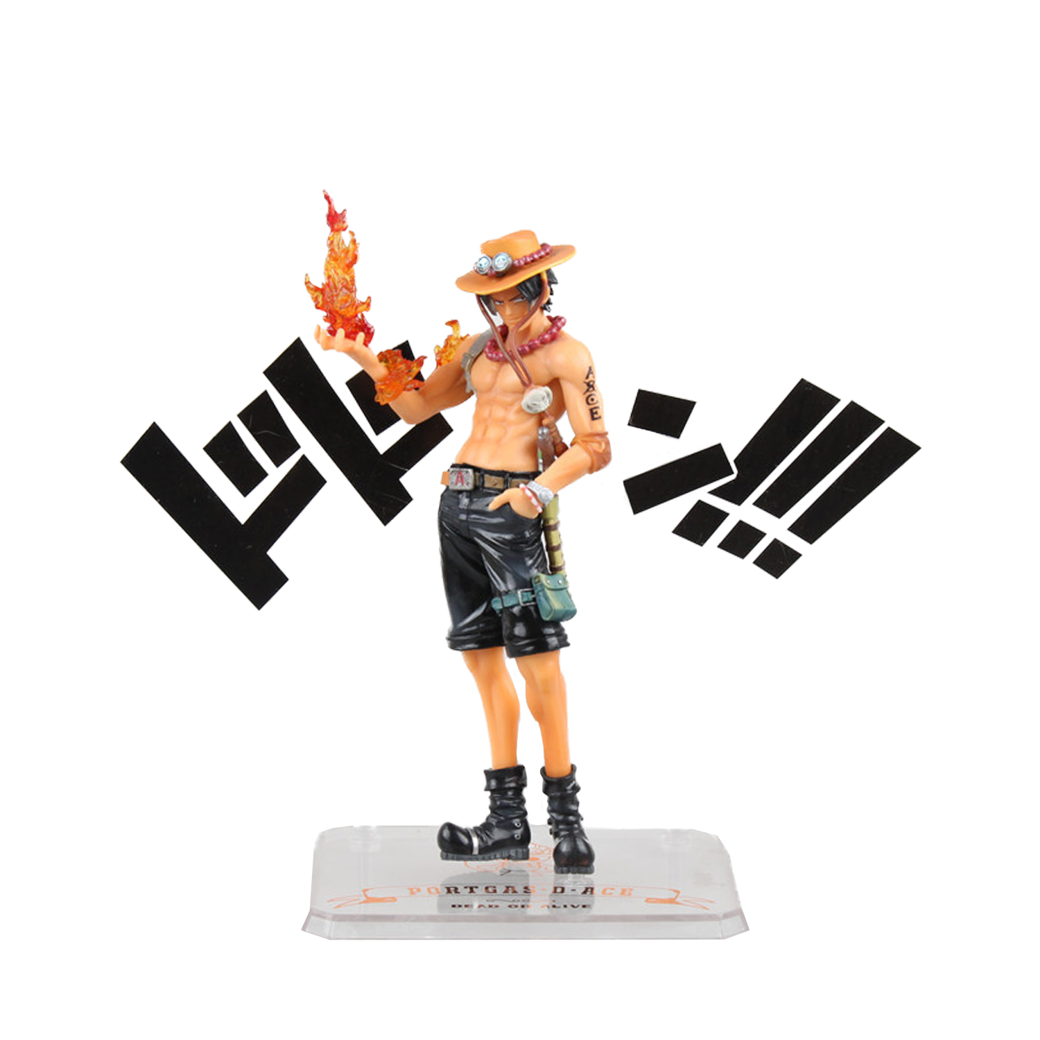 Chanycore Anime ONE PIECE 5th anniversary Portgas D Ace onepiece NEW WORLD PVC Action Figures 15CM collect model toys