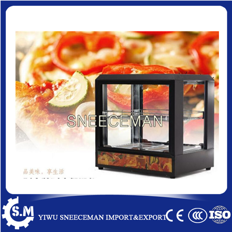 Table Top food warmer display case hot food display cabinet цена