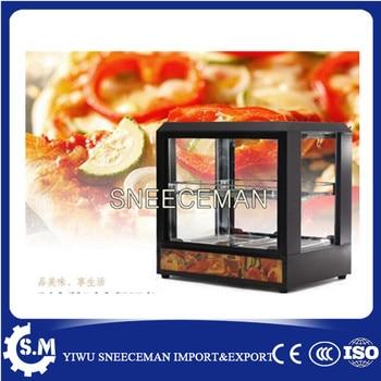 Table Top food warmer display case hot food display cabinet