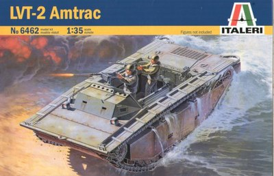 Out of print Italeri Model Kit LVTA 2 1 35 Scale 6462