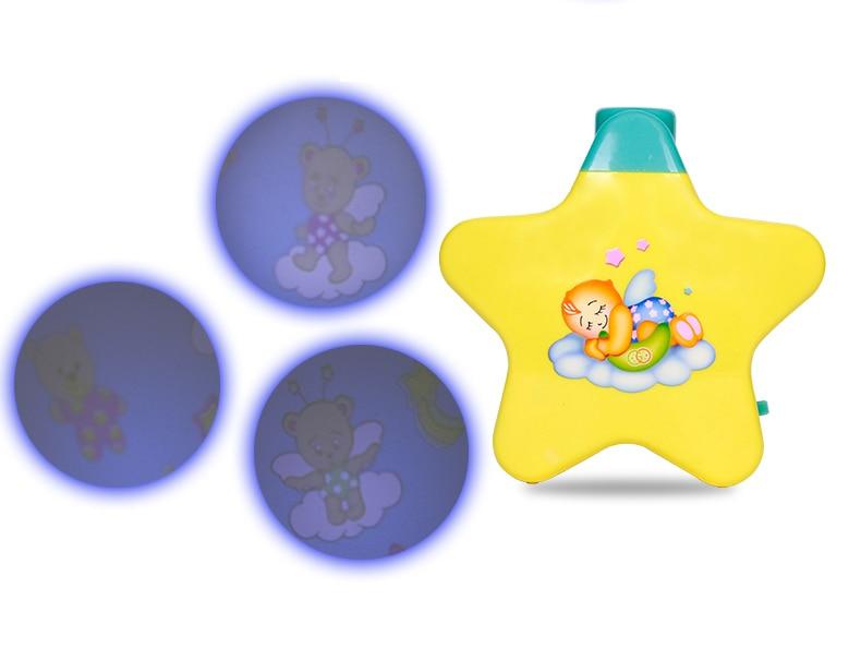 Licht Projector Baby : Nieuwste bed bel speelgoed magische muzikale projector slapen baby