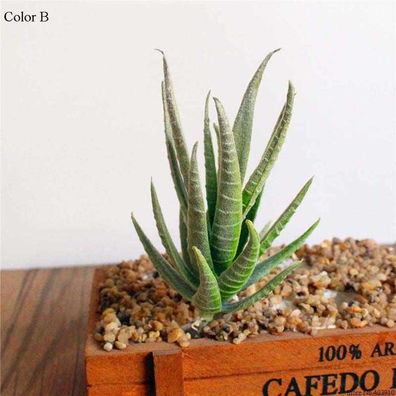 Sztuczne soczyste rośliny Aloe Zebrina sztuczne rośliny krajobraz sztuczna kompozycja kwiatowa akcesoria do dekoracji ogrodu