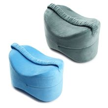 New Memory Foam Knee Leg Pillow Bed Cushion Hips Support Pain Relief for Men Women Pregnancy